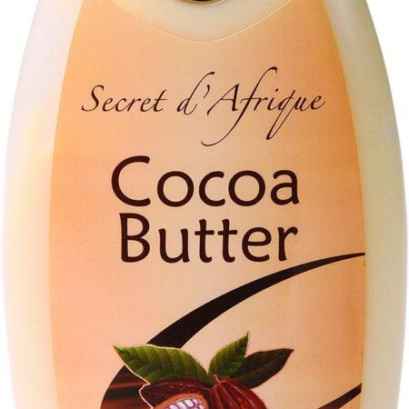 Secret d'Afrique Lotion au beurre de cacao 500 ml.