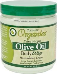 Africa's Best Organics Crème de Fouet pour le Corps à l'Huile d'Olive 15 oz