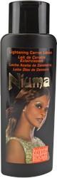Niuma Lotion Éclaircissant aux carottes 500 ml.